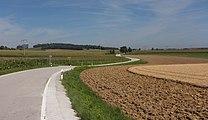 Tussen Rotthalmünster en Malching, wegpanorama foto6 2017-08-08 11.27.jpg