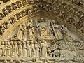 Tympanum of the Portail du Jugement Dernier, Notre-Dame Cathedral, Paris 19 February 2007.jpg