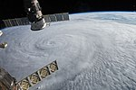Typhoon Soudelor Seen from the ISS (19839740193).jpg