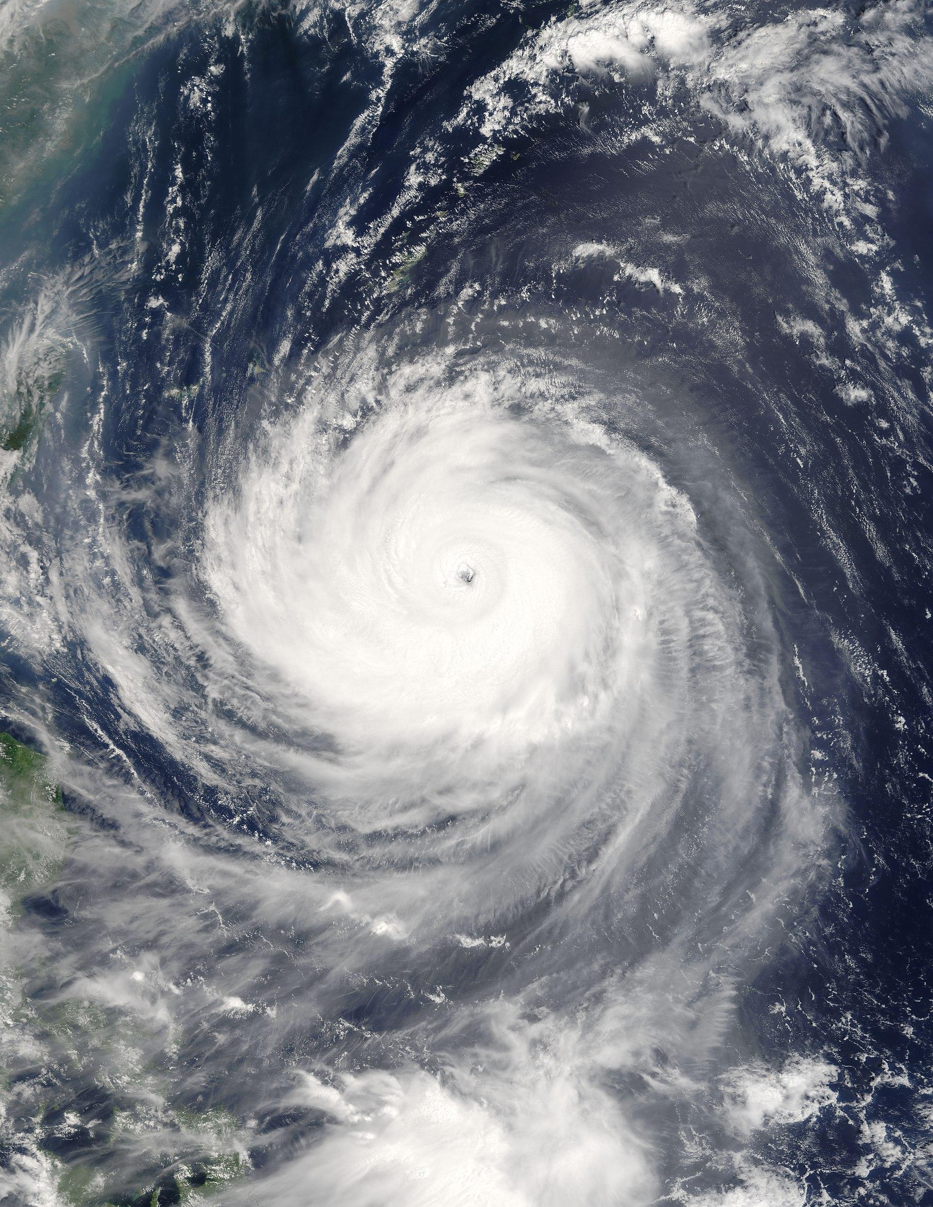 Taifun Englisch