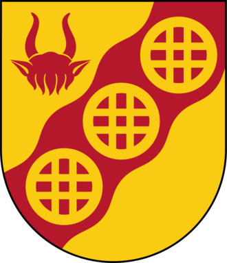 Tyresö Municipality - Image: Tyresö kommunvapen Riksarkivet Sverige