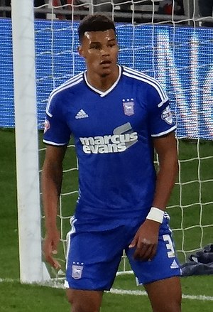 Tyrone Mings - Mings playing for Ipswich Town in 2014