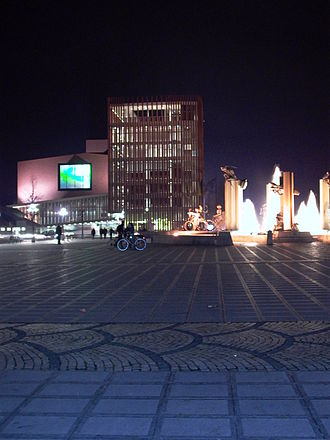 Concertgebouw, Bruges - Image: Tzandmetconcertgebou w