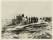 U-58 captured 1917