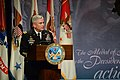 U.S. Army Gen. John F. Campbell, the vice chief of staff of the Army, delivers remarks during a Hall of Heroes induction ceremony for Medal of Honor recipient Staff Sgt. Ty M. Carter at the Pentagon 130827-A-VS818-391.jpg