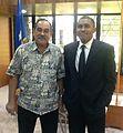 U.S. Senate lobbyist Cary Lee Peterson FSM-Micronesia President Peter Christian.jpg