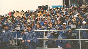 Thunder of the East Marching Band - UB Pep Band at UB Homecoming Football Game vs. Hofstra, October 1992