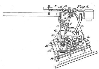 Beauchamp Tower - Apparatus for steadying guns on shipboard