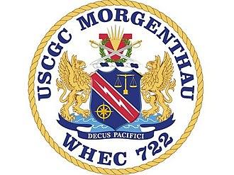 USCGC Morgenthau (WHEC-722) - Image: USCGC Morgenthau crest