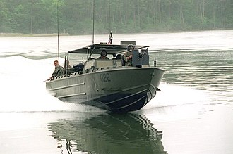 Riverine Assault Craft - Image: USMC Riverine Assault Craft (RAC) during CAPEX
