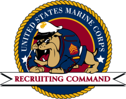 usmc recruiters school logo