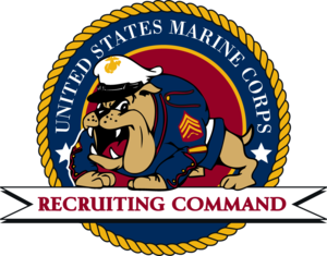 Marine Corps Recruiting Command - Image: USMC recruiter's school logo