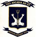 USS Arcadia (AD-23) patch c1958.jpg