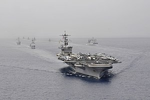 Carrier Strike Group 1 - Malabar 2012 (16 April 2012)