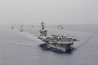 Carrier Strike Group 1 - Malabar 2012 (16 April 2012)