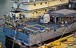 "USS Cowpens (CG-63) 5""-54 caliber Mark 45 gun 127 mm (25551781506).jpg"