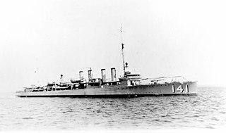 USS <i>Hamilton</i> (DD-141)