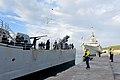 USS Leyte Gulf and HMCS Toronto in Greece.jpg