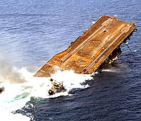 USS Oriskany sinking