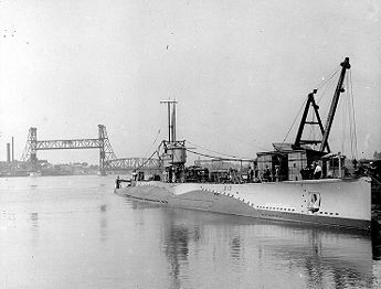 USS S-13 in port