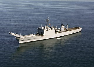 USS <i>Tuscaloosa</i> (LST-1187) Newport-class tank landing ship