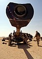 US Navy 021003-N-4374S-033 U.S. Marines assigned to Charlie Battery of the 11th Marine Expeditionary Unit (Special Operations Capable) make final adjustments on an M-198 Howitzer.jpg