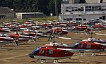 US Navy 040915-N-3659B-002 TH-57 Sea Ranger Helicopters sit on the flight line at Millington Municipal Airport.jpg