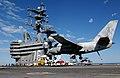 US Navy 050204-N-7130B-099 An S-3B Viking prepares to make an arrested landing on the flight deck of the Nimitz-class aircraft carrier USS Ronald Reagan (CVN 76).jpg
