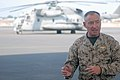 US Navy 071214-A-8138S-486 Lt. Gen. Samuel Helland, 1 Marine Expeditionary Force commanding general and U.S. Marine Corps Forces Central commander, talks to Marines of the Combined Joint task Force.jpg