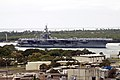 US Navy 080701-N-8732S-013 The aircraft carrier USS Kitty hawk (CV 63) arrives in Pearl Harbor prior to the start of Rim of the Pacific 2008 (RIMPAC) 2008.jpg