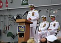 US Navy 110421-N-QL961-094 Vice Adm. Gerald R. Beaman delivers remarks during the U.S. 3rd Fleet change of command ceremony aboard the amphibious a.jpg