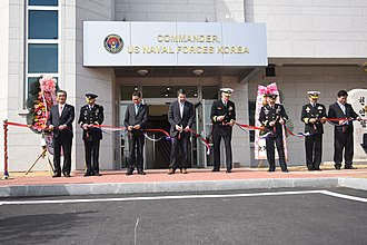 U.S. Naval Forces Korea - CNFK's HQ in Busan.