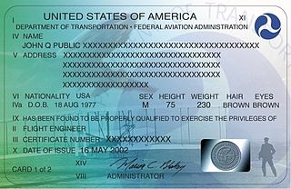Pilot certification in the United States Pilot certification
