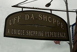 Westby, Wisconsin - Uff da Shoppe, downtown