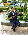 Uighur musician. Kashgar. 2010.jpg