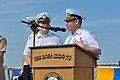 Ukrainian navy Vice Adm. Serhiy Hayduk, the commander in chief of the Ukrainian Naval Forces, speaks during the opening ceremony for exercise Sea Breeze 2014 aboard the guided missile destroyer USS Ross (DDG 71) 140908-N-IY142-210.jpg