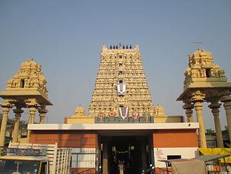 Tirukoilur - Thirukovilur temple tower