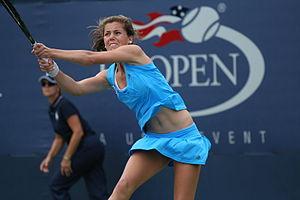 Ulrikke Eikeri - Eikeri at the 2009 US Open