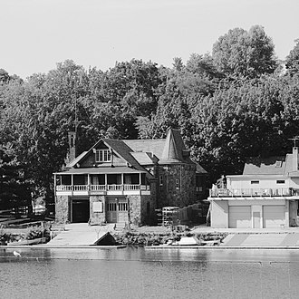 Boathouse Row - Image: Undine Barge Club