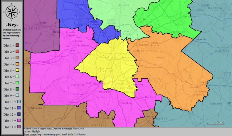 Georgia S Congressional Districts Wikiwand