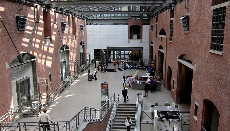 United States Holocaust Memorial Museum interior.JPG