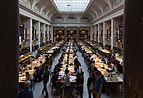 Universität Wien, Großer Lesesaal - Ausstellung Wikiversity 2015-8795.jpg