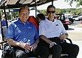 University of Texas at Arlington President James Spaniolo with Arlington, Texas Mayor Robert Cluck (10009622).jpg