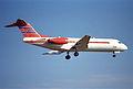 Untitled (Netherlands Government) Fokker 70; PH-KBX@ZRH;08.02.1997 (6169507444).jpg