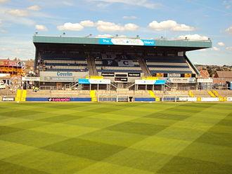 Memorial Stadium (Bristol) - Image: Uplands Stand BRFC