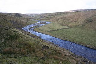 River Lune, Durham river in Cumbria and County Durham, UK
