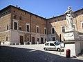 Urbino, palazzo ducale, facciata piazzale duca federico 01.jpg