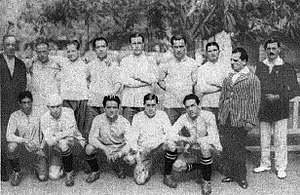 1920 South American Championship - Uruguay's winning squad.