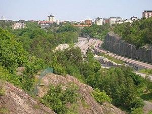 Nacka Municipality - Image: Värmdöleden at Alphyddan Nacka Sweden