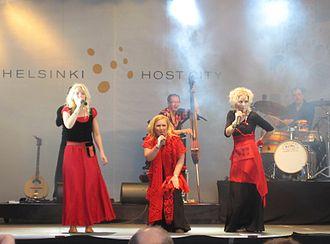 Värttinä - Värttinä in 2007
